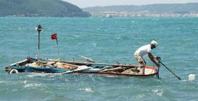 pêcheur sur le Bosphore