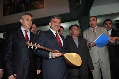 Gül à Tunceli (novembre 2009)