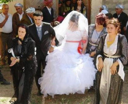 mariage Tülin et Rojhat, Semdinli juillet 2009