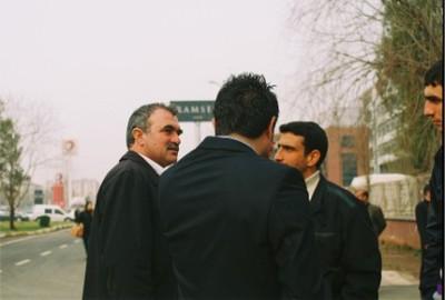 Arif Akkaya,  Diyarbakir février 2010 (photo anne guezengar)