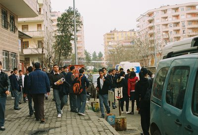 Lycéens de Diyarbakir, photo anne guezengar