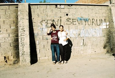 jeunes filles de Diyarbakir (photo anne guezengar)