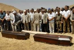 enterrement des frères Ozdemir, Batman août 2010.