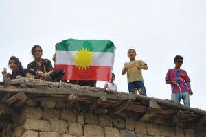 drapeau kurdistan (Irak)