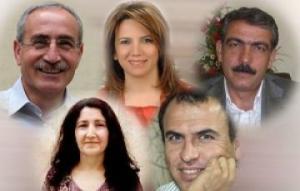 Députés kurdes emprisonnés
