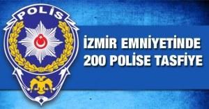 Izmir 200 policiers limogés