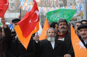 akp miting Van hizbullah