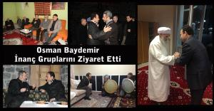Osman Baydemir rencontre les croyants Urfa
