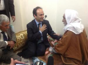 Baydemir Haci Ahmet Kaya ziyaret