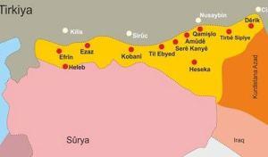 villes kurdes syrie
