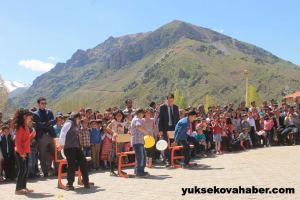 Semdinli 24 avril fête des enfants vue montagne