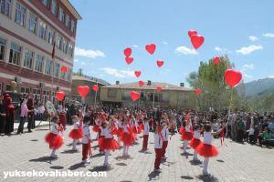 Semdinli 24 avril fête des enfants rouge et blanc