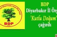 Diyarbakir anniversaire du prophète BDP  invitation