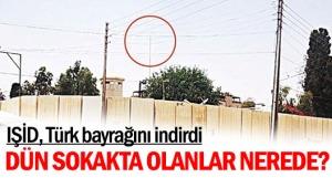 Mossoul consulat turc drapeau