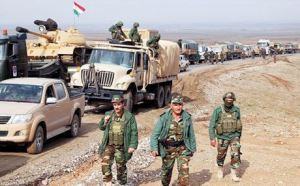 peshmerga déployées sud kirkouk