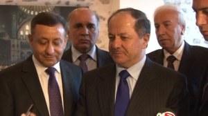 Barzani en visite à Ankara.