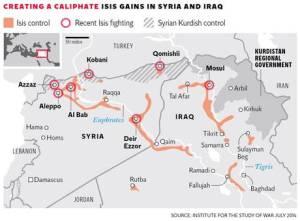 EIIL en Syrie et en Irak Juillet 2014