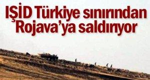 Tanks EIIL près de la frontière turco syrienne Kobane - Urfa