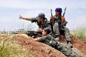 YPG combattantes