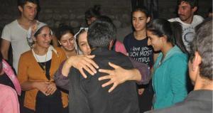 Routiers TIR otages ISIS retrouvailles familles photo Evrensel