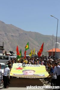 Hakkari funérailles YPG Kapalak 11 juillet 2014