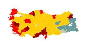 carte des résultats électoraux 30 mars 2014 turquie