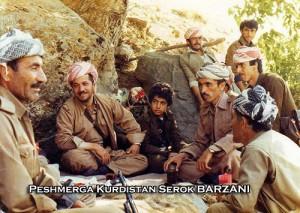 Massoud Barzani peshmerga