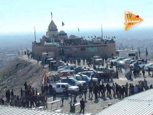 Tombeau de S. Zeynep - chiite- détruit par EIIL 3 août 2014