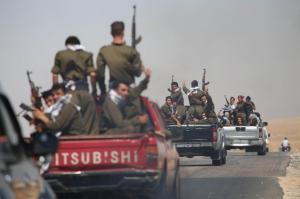 YPG en route pour Sinjar
