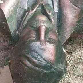 Destruction de la statue de Mahsum Korkmaz, Lice , 19 août 2014