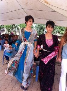 robe kurde mariage paon 6